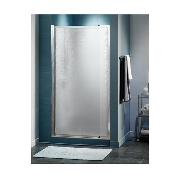 Maax Pivolok 28-33-in x 65-in Chrome Hammer Shower Door