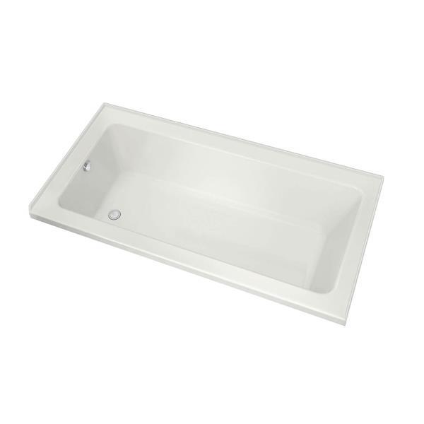 MAAX Skybox 36-in x 72.25-in Acrylic Bathtub with Right Drain