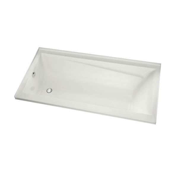 MAAX New Town 32-in x 59.75-in White Bathtub with Right Drain
