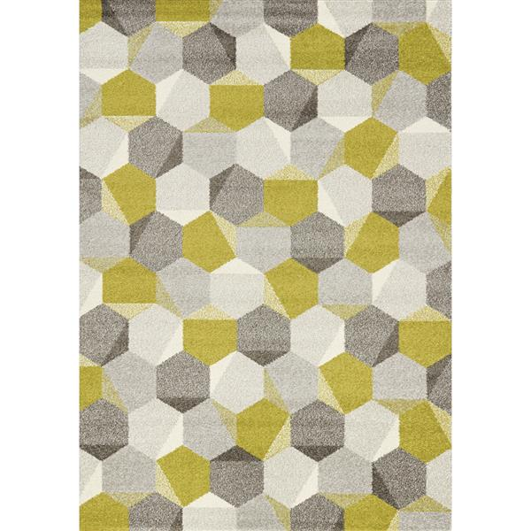 Kalora Camino Honeycomb Rug - 7' x 10' - Green