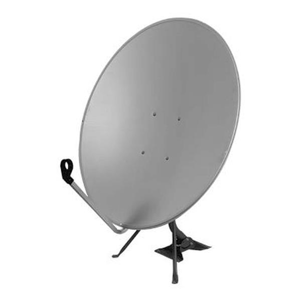 Digiwave Gray 33-in Offset Satellite Dish