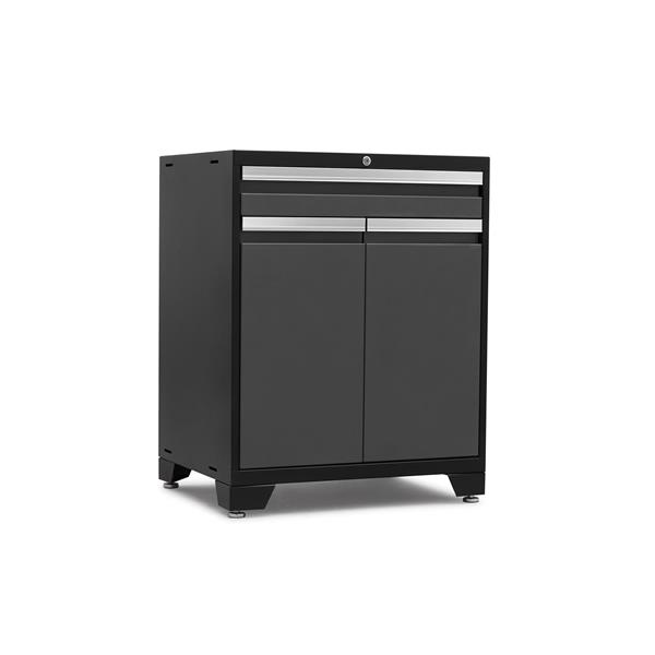 NewAge Products 37.50-in x 28-in 1 Piece Grey Pro 3.0 Series BaseMultifunction Garage Cabinet
