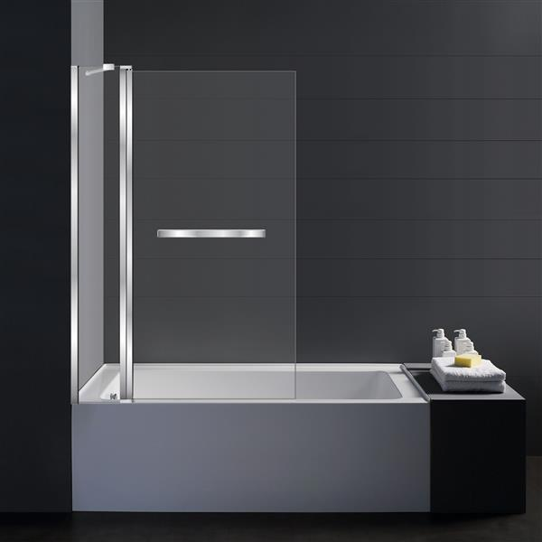 Jade Bath 41-in Shield Pivot Bathroom Door