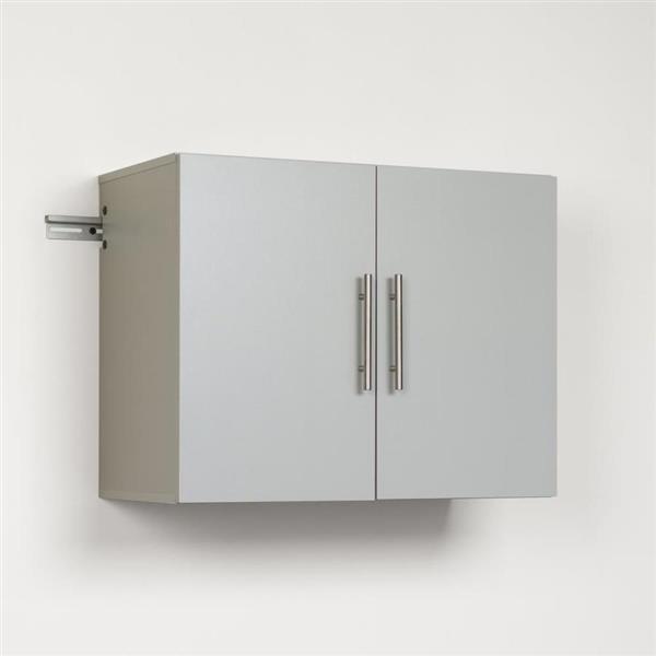 """Cabinet de rangement mural HangUps, 30"""" x 24"""", gris"""