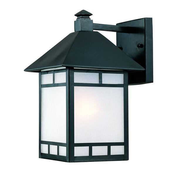 Acclaim Lighting Artisan 14.5-in Matte Black Outdoor Wall Lantern