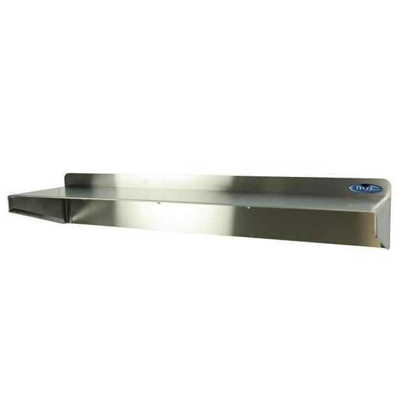 "Stainless Steel Shelf - 24"""