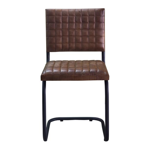 """CDI Furniture Nevis  Chair - 21"""" x 35"""" - Leather - Brown"""