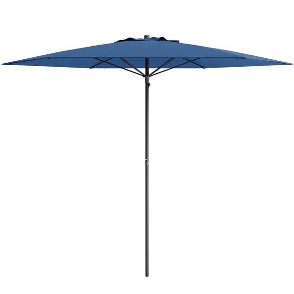 CorLiving UV and W-d Resistant Patio Umbrella - Blue