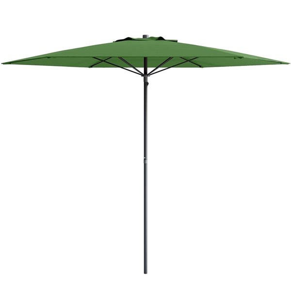 CorLiving UV and W-d Resistant Patio Umbrella - Green