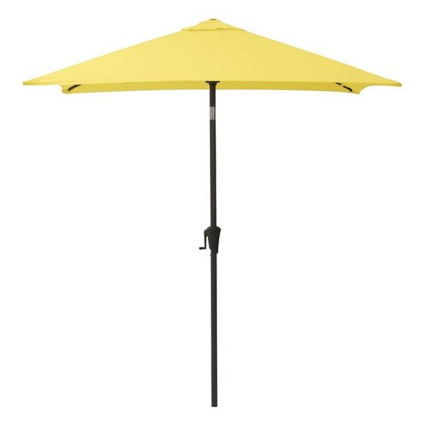 CorLiving Square Patio Umbrella - Yellow