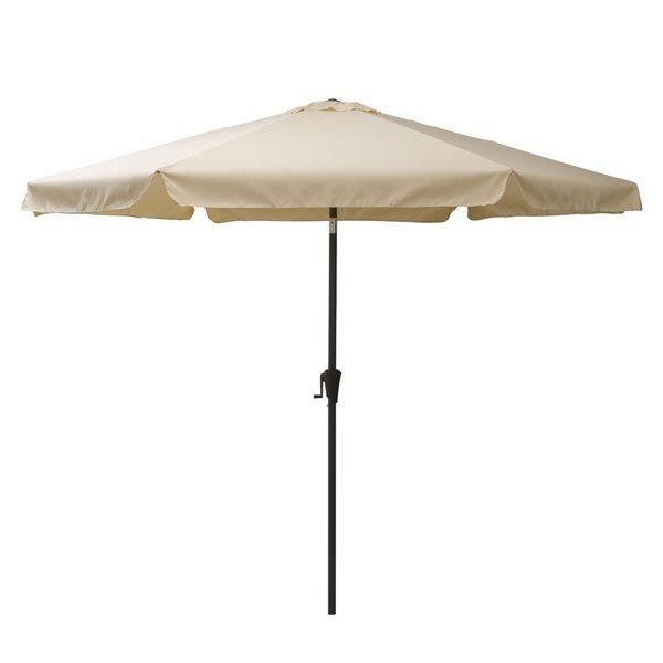 CorLiving Tilt-g Patio Umbrella - Warm White