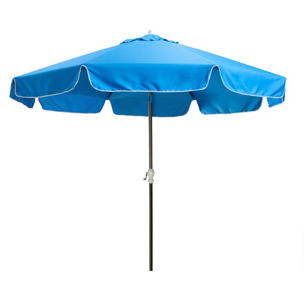All Things Cedar Patio Octogon Umbrella - Blue - 10'