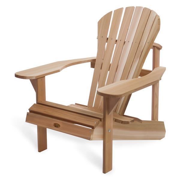 All Things Cedar Muskoka Adirondack Chair - Natural