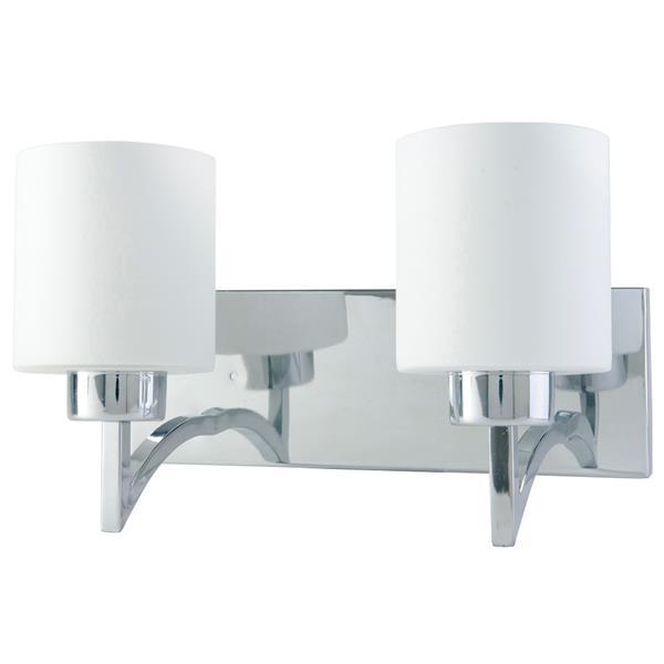 "Luminaire Markam, 2 lumières, 8,7"", blanc"