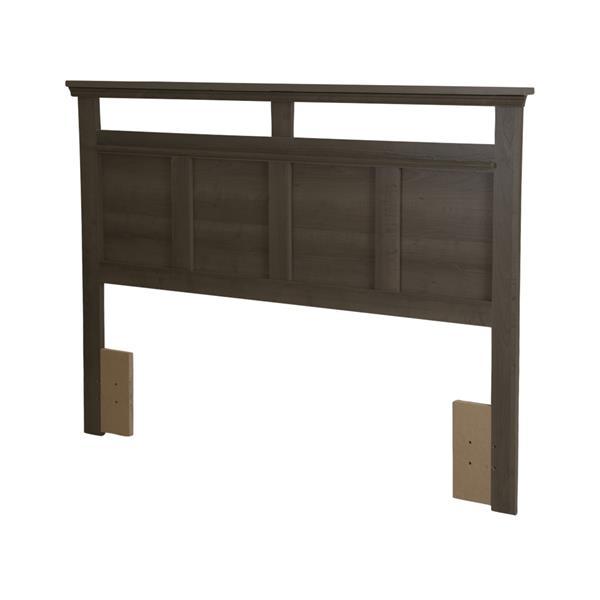 South Shore Furniture Versa Headboard - Full/Queen - Gray Maple
