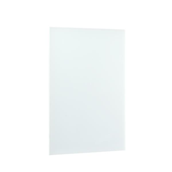 WarmlyYours Ember Radiant Heating Plug-in Panel - 800 W - White Glass