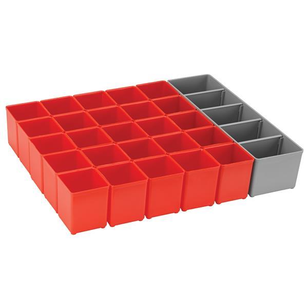 Bosch Organizer Insert Set for L-Boxx System - 26 Pieces