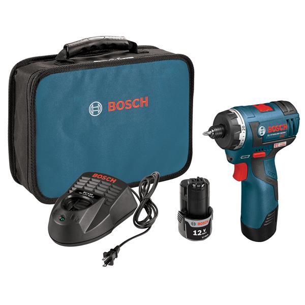 Bosch Max EC Brushless Two-Speed Pocket Driver Kit - 12V