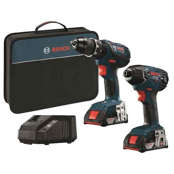 Bosch 2-Tool Combo Kit - 18 V