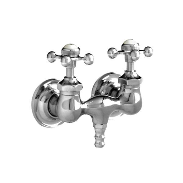 Chrome bathtub filler faucet