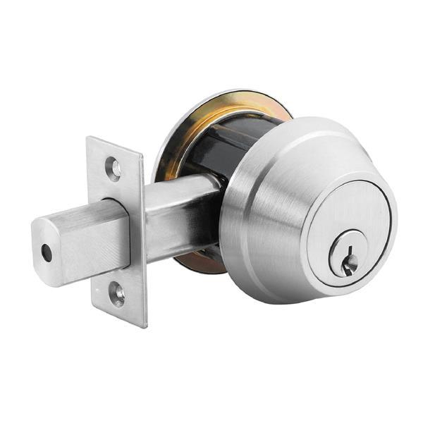 Toolway Dead Bolt Door Lock - 2.75-in - Chrome