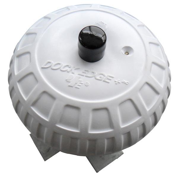 "Dock Edge + Inflatable Dock Wheel - 9"" - White"