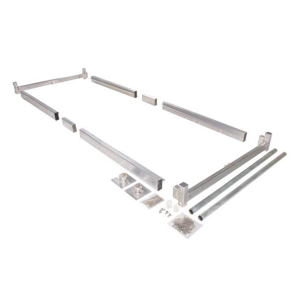 Dock Edge + Dockside Hybrid Dock Kit - Aluminum