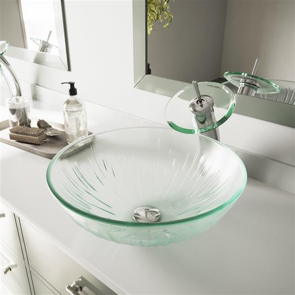 Vasque de salle de bain, Icicles