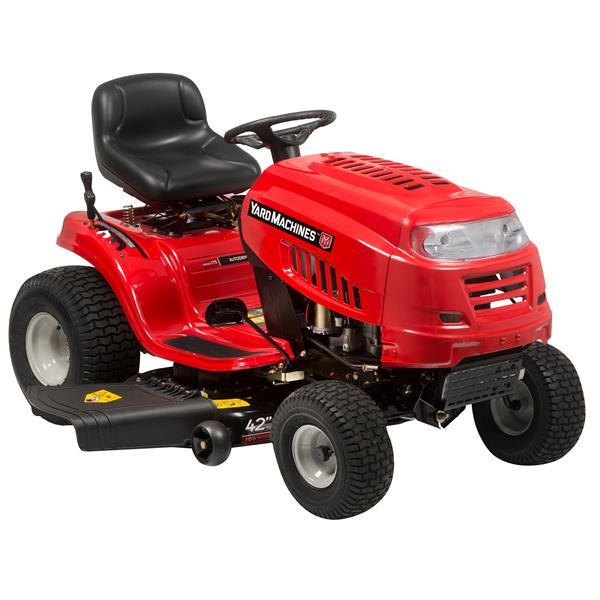 "Yard Machines Lawn Tractor - 42"""
