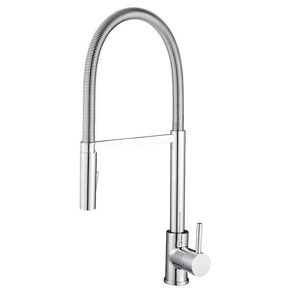 Ancona Barista Kitchen Faucet - Polished Chrome