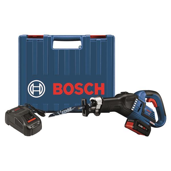 """Bosch EC Brushless Recip Saw Kit - 18 V - 1-1/4"""""""