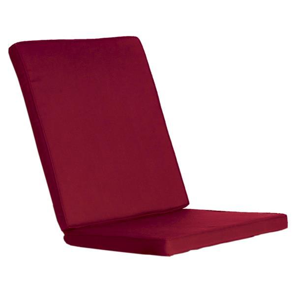 All Things Cedar Outdoor Folding Chair Cushion - Red