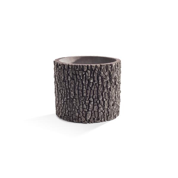 Vertical Oak Planter - 13''