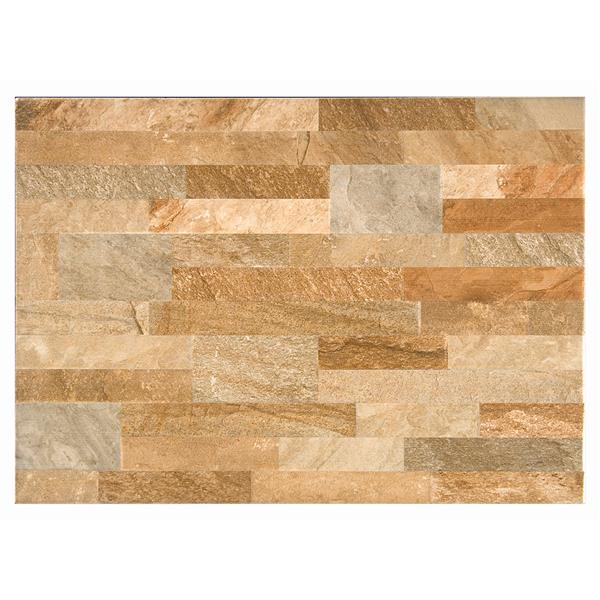 Mono Serra Group Wall Tile - 13-in x 19-in - Multicolor 18.96 sq.ft. / case
