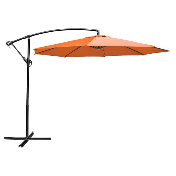 Henryka Cantilever Umbrella - 10' - Orange