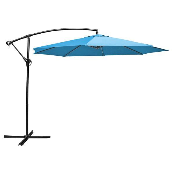Henryka Cantilever Umbrella - 10' - Blue