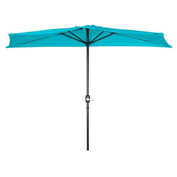 Henryka Half Umbrella - 9' - Blue