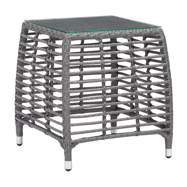 Trek Beach Side Table - Grey and Beige