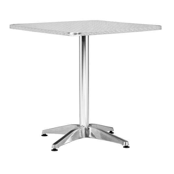 Christabel Square Table - Aluminum