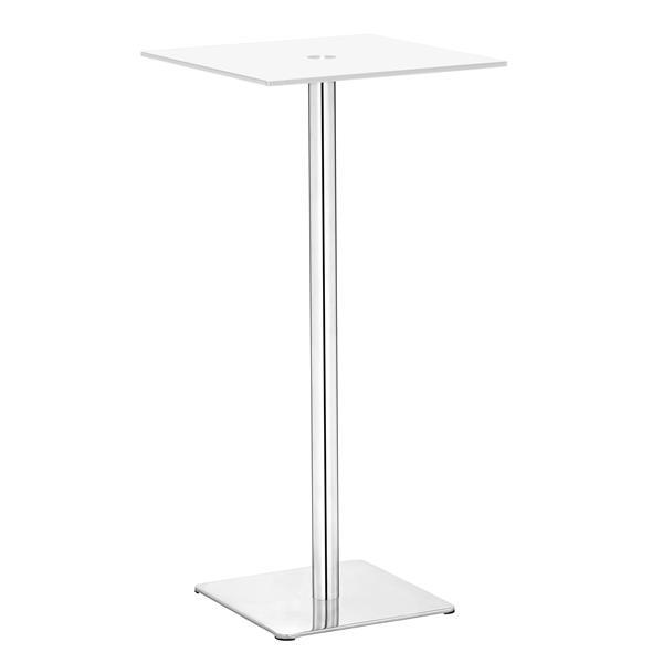 Zuo Modern Dimensional Bar Table - White