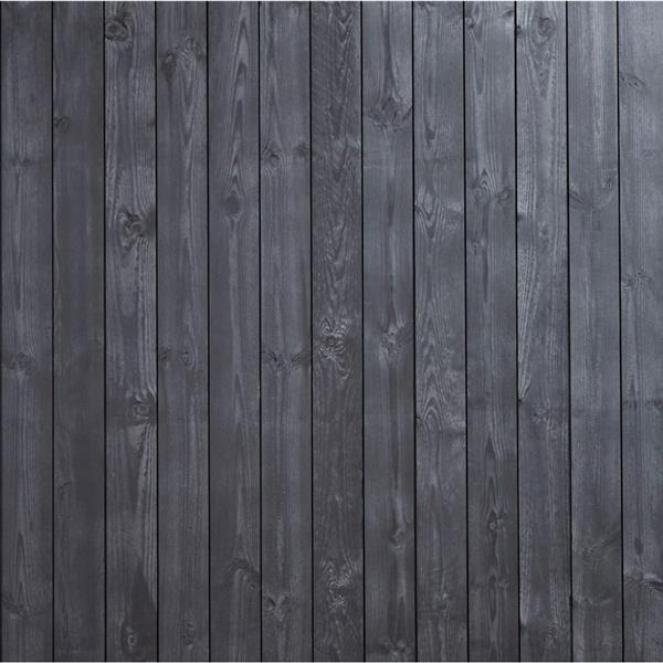 Appearance Boards - Shiplap - 8' - Black