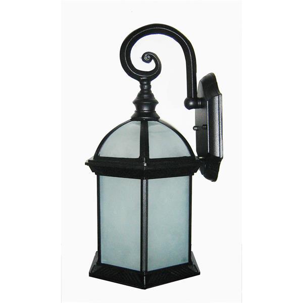 Whitfield Lighting Outdoor Wall Mount Light - 1 Light - Black
