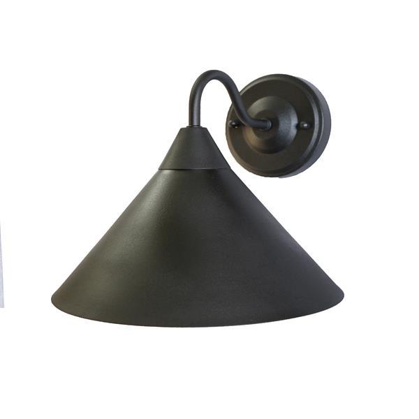 Whitfield Lighting Contemporary Outdoor Light - 1 Light - Matte Black