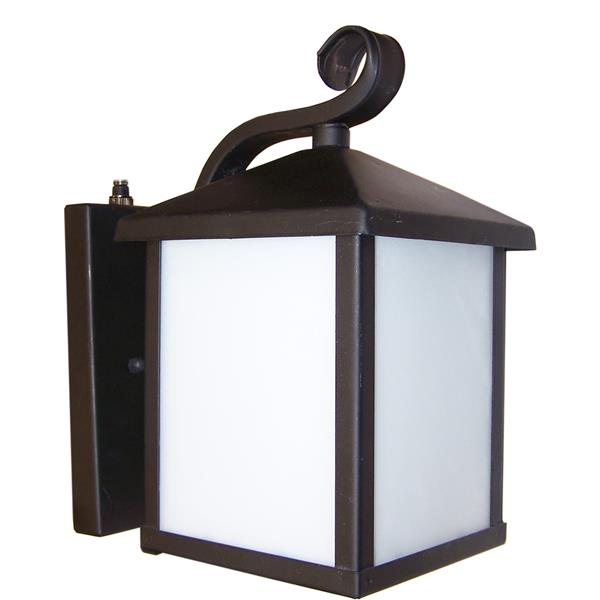Whitfield Lighting Outdoor Wall Mount Light - 1 Light - 12-in x 7.25-in - Oil Rubbed Bronze