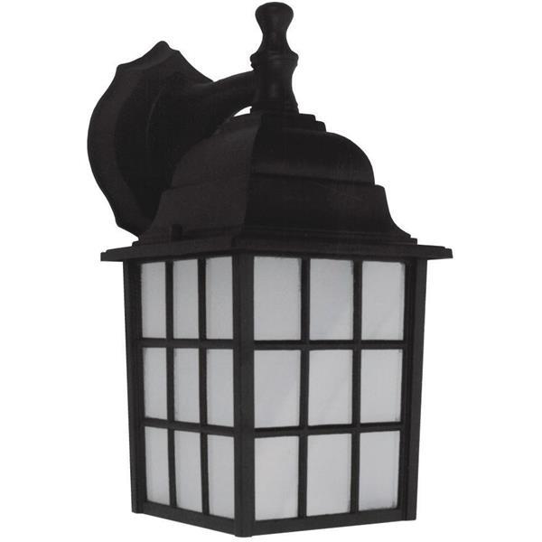 Whitfield Lighting Gerald Outdoor Wall Mount Light - 1 Light - Black