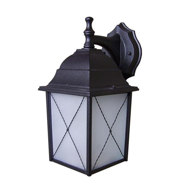 Whitfield Lighting Maceo Outdoor Wall Mount Light - 1 Light - Black