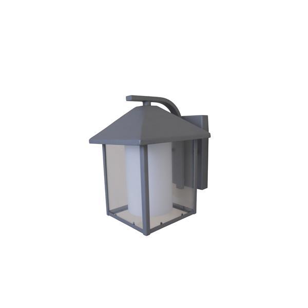 Whitfield Lighting Aamina Outdoor Wall Mount Light - 1 LED Light - Gray