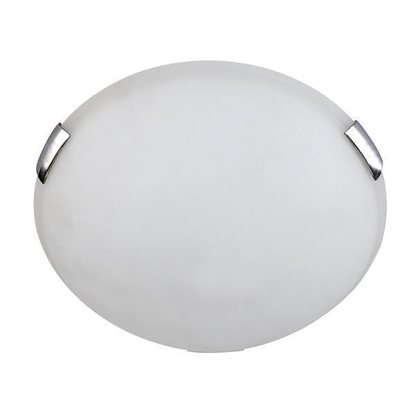 Whitfield Lighting Flush Mount Light - 2 Lights - 3.75-in - Polished Chrome