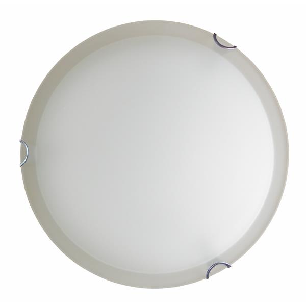 Whitfield Lighting Traditional Flush Mount Light - 2 Lights - 4-in x 12-in - Chrome
