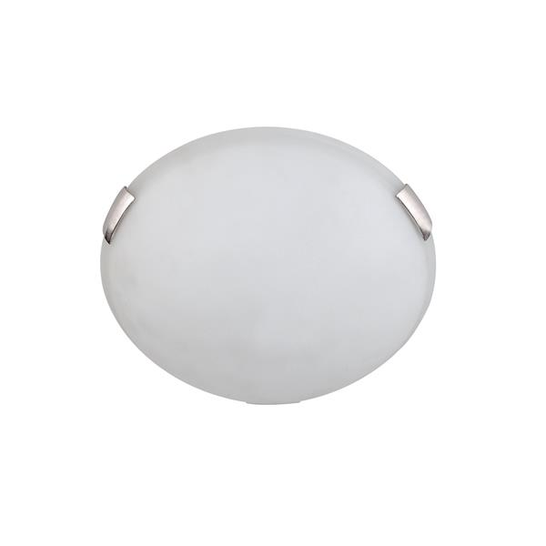 Whitfield Lighting Standard Flush Mount Light - 2 LED Lights - Opaque Glass
